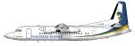 Air Iceland Flugfelag- Fokker 50