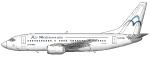 Air Mediterranee Boeing 7
