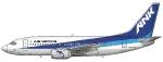 Air Nippon Boeing 737