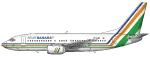 Air Sahara  Boeing 737