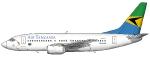 Air Tanzania Boeing 737