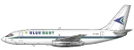 Blue Dart Boeing 737