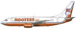 Hooters Boeing 737