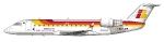 Iberia Regional CRJ