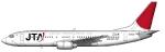 Japan Transocean Boeing 737