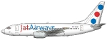 JAT Boeing 737