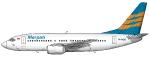 Merpati Boeing 737