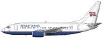 SAS Braathens Boeing 737