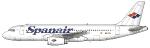 Spanair Airbus A320