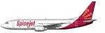 SpiceJet Boeing 737-400