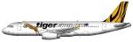 TigerAirAus Airbus A320