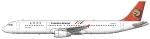 Transasia Airbus A321