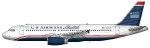 US Airways Shuttle A320