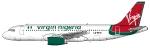 Virgin Nigeria Airbus A320